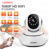 Wholesale Onvif Cctv Network Ip Camera - LOOSAFE HD 1080P Wireless WiFi Security CCTV IP Camera Pan Tilt Network Night Vision P2P ONVIF IP Camera