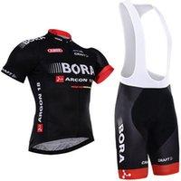 Wholesale Team Cycle Jerseys Wholesale - Tour de France Team Bora Argon 18 2016 Cycling Jerseys Short Sleeve Cycling Clothing Cycling Bib Shorts Sets Sport Cycling Clothes