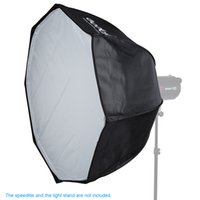 Wholesale Octagon Grid - Freeshipping 80cm   31.5in Bowens Mount Portable Octagon Honeycomb Grid Umbrella Softbox for Speedlite Flash Light