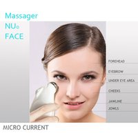 Wholesale Face Massage Wrinkles - Nu0- Face trinity facial toning device Nu- Face trinity microcurrent VS face massage Pro Facial skin Toning rejuvenation Device