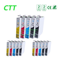 Wholesale Ink Cartridge For Epson S22 - CTT 15 Ink Cartridges T1281 Compatible for T1282 T1283 T1284 Epson Stylus S22 SX125 SX130 SX230 SX235W SX420W SX425W SX430 SX438 SX438W