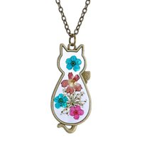 Wholesale Models Girls Korean - 2016 Spring models retro sweater chain necklace Korean version of the herbarium for boy and girl hot selling160521