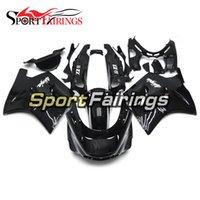 Wholesale 93 Kawasaki Ninja Fairings - Fairings For Kawasaki ZX11 ZZR1100D 93 94 95 96 97 98 99 00 01 02 03 1993 - 2003 ABS Injection Motorcycle Fairing Kit Cowling Black