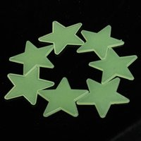 Wholesale Glow Wall Stars - Hot Sale 100PCS Home Wall Glow In The Dark Stars Meteor Stickers Decal DIY Child Kid's Baby Nursery Room Dormitory Decoration