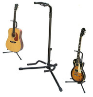 Wholesale Free Standing Electric - Free Shipping Black guitar stand Acoustic Guitar electric Guitar bass stand guitar parts Musical instrument accessories