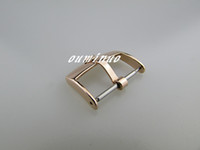 Wholesale 18mm Rose Gold Watch Band - 16mm 18mm 20mm Top-Grade rose gold Stainless Steel Watchband Strap Deployments Clasp Buckle For Rolex Watch