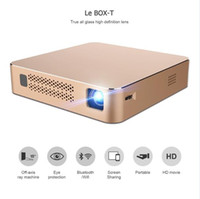 Wholesale Tv Projector For Video Games - VEZ BOX T Multimedia Home Theater Video Projector Supporting 1080P HDMI USB SD Card VGA AV for Home Cinema TV Laptop Game Smartphones Stock