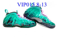 Wholesale Clear Penny - 2016 Men Posite One Basketball Sport Shoes.Adult Penny Hardaway Trainer Sneaker Galaxy ParaNorman South Beach Weatherman Metallic Red