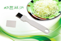 Wholesale Sharp Cutter Knife - Onion Vegetable Cutter slicer multi chopper Sharp Scallion Kitchen knife Shred Tools Slice Cutlery