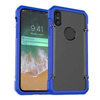 Wholesale Top Quality Phone Case - For Iphone X 8 7 6 6S Plus Samsung Note 8 Top Quality Luxury Fashion Case Hard PC Armor Hybrid Protection Phone Case OPPBAG