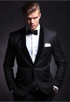 Wholesale Men Ivory Dress Pants - Side seam a button the groom's best man suit wedding dress wedding suit (jacket + + pants + tie vest