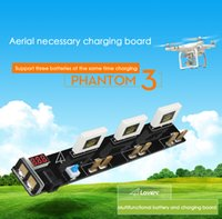 Wholesale Charger Plates Free Shipping - DJI phantom 3 1pcs Accessories Battery Chargers Multi-charging board Fast and filling plates free shipping