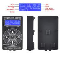 kasırga dövmesi tedarik toptan satış-Kasırga Dövme Güç Kaynağı HP-2 Siyah Dijital LCD Ekran Dövme Güç Suppl Dövme Makinesi Için Klip Kordon Dövme Seti AB / İNGILTERE / ABD plug
