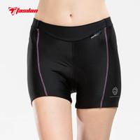Wholesale Gel 3d Padded Coolmax - Tasdan 2016 Cycling Underwear Custom Cycling Clothing Bibs Womens Bicycle Cycling Comfortable Underwear Gel 3D Coolmax Padded Bike Short