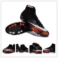Wholesale Soccer Cleats Cr - 2016 New Soccer Shoes Mercurial Superfly CR AG-R Savage Beauty Men Soccer Shoes Botas Futbol Hombre Outdoor Soccer Cleats Boots
