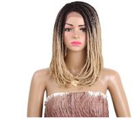 cinta extensiones de cabello oscuro auburn al por mayor-Cabello negro mujer 4 colores frente de encaje frente de encaje sintético Moda para Braizl alta calidad bea469