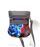 Wholesale Cotton Wallet Style - Hot Sale New Fashion brand wallet women's embroidered messenger shoulder bag Casual Canvas Handbag Cross Body Bag
