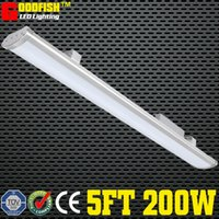 Wholesale Workshop Light Waterproof - 5FT 1500mm Lighting fixture 200W LED LOW BAY LIGHT IP65 Waterproof for Commercial Industrial Lighting led linear warehouse High Bay Light