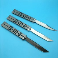 Wholesale Sports Knifes - 3 models Microtech Tachyon II Tanto Balisong Butterfly gear Tactical Knife Hunting Pocket Folding camping outdoor sport Knife Knives