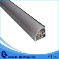 Wholesale Up Profile - 1m length Aluminum LED Profile-Item No.LA-LP12A led strip profile suitable for LED strips up to 11mm width--Free Shipping