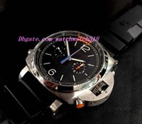 Wholesale Sailing Watches - Factory Supplier Luxury Wristwatch 00526 526 Sailing Computing speed Mechanical Rubber Strap Mens Men's Watch Watches