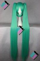 Wholesale Miku Wigs - Wholesale-Miku Cosplay Wig -Vocaloid Cosplay Wig Miku Cosplay Wig Green Womens Vocaloid Cosplay Wigs
