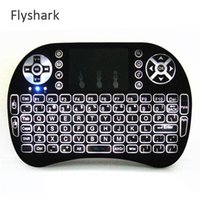 Wholesale Mini Bluetooth Laser Mouse - Mini I8 Backlight Keyboard Wireless Laser Keyboard Air Mouse Backlight New RII I8 2.4G wireless Gaming Keyboards Bluetooth Keyboard