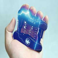 Wholesale Electric Shock Voltage - Trick toy Electric Hand Grip Hold the Grip to Release Voltage Get a Shock to Friends in Safe Voltage Plastic Material Charged Toy