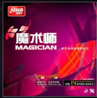 Wholesale dhs tennis balls - NEWEST- DHS Magician table tennis ball rubber Double happiness magician pingpang rubber
