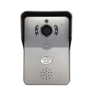 porta de desbloqueio de vídeo do intercomunicador venda por atacado-720 P visualizador de porta wi-fi de vídeo olho PIR Sensor de Movimento IR Night vision Desbloqueio Remoto Intercom 1.0 Mega pixels câmera de vídeo da porta