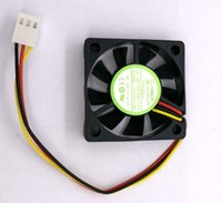 Wholesale 4cm Fan - New Original YOUNG LIN DFB401012M 12V 0.7W 40*40*10MM 4cm 3Lines cooling fan