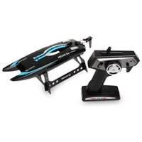 Wholesale Ma Electric - Wholesale- New Sale Shuang Ma 7014 2.4GHz 3CH Mini Waterproof Electric RC Racing Boat with Display Rack RTR Version