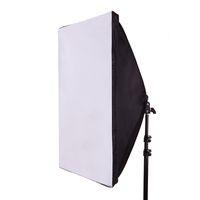 iluminación para la fotografía al por mayor-Venta al por mayor- 50 * 70CM Photography Studio Wired Softbox Lamp Holder con E27 Socket para el estudio de iluminación continua con bolsa de transporte