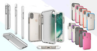 Wholesale Transparent Bag Iphone - For IPhone X Soft TPU Transparent Cases For IPhone 8 6s 7Plus Galaxy Note8 Anti Shock Proof Cellphone Protective cover with OPP bags