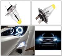 ingrosso generi luci principali-1 Pz H7 5 W Ad Alta Potenza Adatto A Tutti I Tipi di Veicoli Nuovo Arrivo 3D LED Auto Fendinebbia Auto Guida Bianco Lampadine Lampada di Alta Qualità