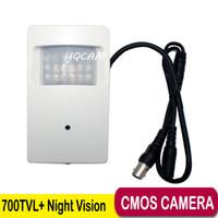 Wholesale Pir Cctv - Night Vision 700tvl CMOS Security Indoor CCTV Mini PIR 18pcs 940nm led Surveillance Camera pir mini camera pir mini cam