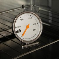 Wholesale Stainless Steel Thermometer Kitchen - Kitchen Electric Oven Thermometer Stainless Steel Baking Oven Thermometer Special Baking Tools 50-280°C S341