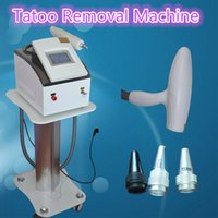 Wholesale Tattoo Professional System - q switch nd yag laser tattoo removal system Best Professional with 1,000,000 Shoots used spa equipment