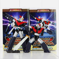 Wholesale Wholesale Kids Collectables - Anime Mazinger Z PVC Action Figure Collectable toy for Kids Toys Chritmas Gifts 2style set retail