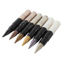 Wholesale-7 Arten heißer wasserdichter Shimmer Dual-Use-Eyeliner Lip Liner Lidschatten Bleistift Make-up-Tool