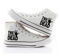 Wholesale Walking Dead Fabric - New Arrival The Walking Dead Canvas Shoes,Outdoor Leisure Fashion Sneakers,Unisex Casual Shoes Hot Items