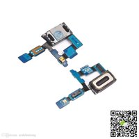 Wholesale Earpiece Phone Cable - Mobile Phone Repair Earpiece Ear Speaker Flex Cable Repair Part for Samsung Galaxy S6 Edge SM-G925F