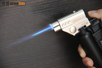 Wholesale Butane Heating - Jet Butane Torch Lighters Flame Gun for heat the glass nail or titanium nail