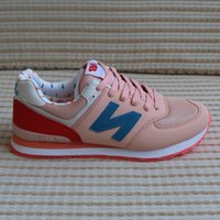 Wholesale Nb Running - New 2017 admission men and women 574 NB balances casual sports shoes lovers shoes running shoes sizeEU 36-40
