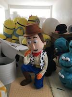 Wholesale Cowboy Themes - Hot Sale Woody The Cowboy mascot costume custom fancy costume anime mascotte theme fancy dress carnival costume
