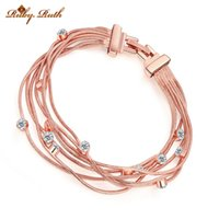 Wholesale Bracelet Cristal - Ruby.Ruth New Fashion brand cristal bracelet bracelets for women bohemian charm rose gold made valentine's day gift jewelr 2016