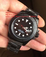 Wholesale Luxur Watches - Top quality luxur Brand New New Luxury Sapphire Bamford Ceramic 40MM Black Dial 16610 116610 automatic mechanical Men's Watches wristwatch