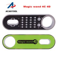 Wholesale Mitsubishi Immobilizer - Magic Wand 4C 4D Transponder Chip Generator Magic Wand key programmer For Ford Mazda Immobilizer Chips 4D63  83 40bit  83 80bit Chip