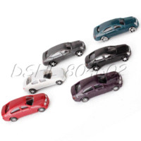 Wholesale Cheap Toy Model Cars - 50PCS Building Layout 1:100 Scale Model Cars  Fixation door and wheels Diecasts & Toy Vehicles Cheap Diecasts & Toy Vehicles