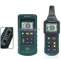 Wholesale Advance Ac - MASTECH MS6818 High Sensitivity Advanced 12~400V AC  DC Wire Tracker Cable Locator W  Flashlight & LCD Backlight